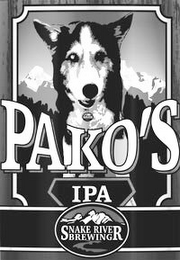 mark for PAKO'S IPA SNAKE RIVER BREWING, trademark #86080548