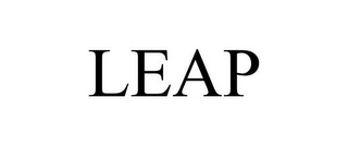 mark for LEAP, trademark #86082988