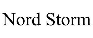 mark for NORD STORM, trademark #86085532