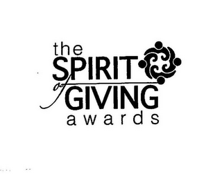 mark for THE SPIRIT OF GIVING AWARDS, trademark #86086640