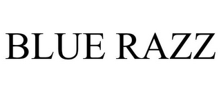 mark for BLUE RAZZ, trademark #86089230