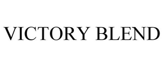 mark for VICTORY BLEND, trademark #86089545