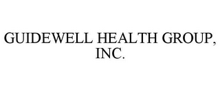 mark for GUIDEWELL HEALTH GROUP, INC., trademark #86090129