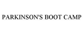 mark for PARKINSON'S BOOT CAMP, trademark #86091722
