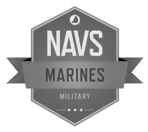 mark for NAVS MARINES MILITARY, trademark #86095776