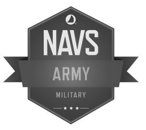 mark for NAVS ARMY MILITARY, trademark #86095788