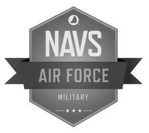 mark for NAVS AIR FORCE MILITARY, trademark #86095815