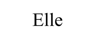 mark for ELLE, trademark #86098316