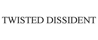 mark for TWISTED DISSIDENT, trademark #86099127