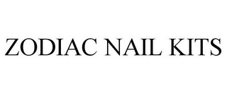 mark for ZODIAC NAIL KITS, trademark #86101850