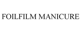 mark for FOILFILM MANICURE, trademark #86101926