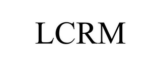 mark for LCRM, trademark #86106354
