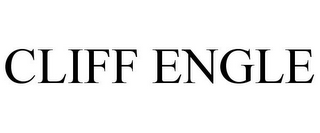 mark for CLIFF ENGLE, trademark #86116098