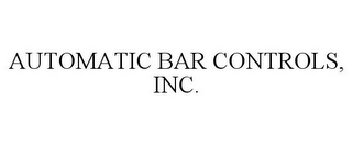 mark for AUTOMATIC BAR CONTROLS, INC., trademark #86120083