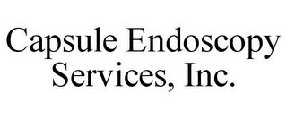 mark for CAPSULE ENDOSCOPY SERVICES, INC., trademark #86121251