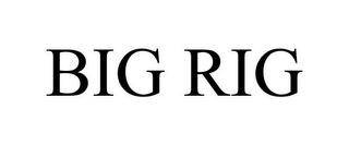 mark for BIG RIG, trademark #86124883