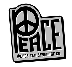 mark for PEACE PEACE TEA BEVERAGE CO, trademark #86126158