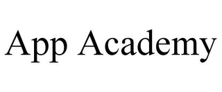 mark for APP ACADEMY, trademark #86129798