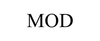 mark for MOD, trademark #86131794