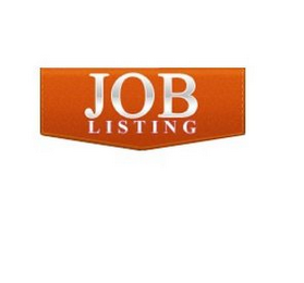 mark for JOB LISTING, trademark #86133626