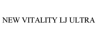 mark for NEW VITALITY LJ ULTRA, trademark #86135325