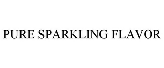 mark for PURE SPARKLING FLAVOR, trademark #86142654