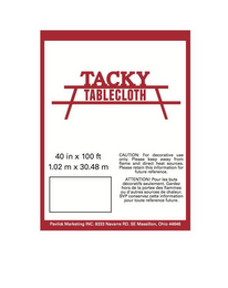 mark for THE WORDS TACKY TABLECLOTH., trademark #86153742