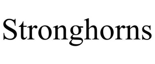 mark for STRONGHORNS, trademark #86157583