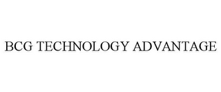 mark for BCG TECHNOLOGY ADVANTAGE, trademark #86160781