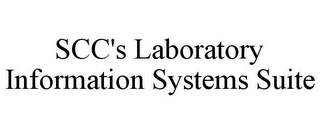 mark for SCC'S LABORATORY INFORMATION SYSTEMS SUITE, trademark #86164693