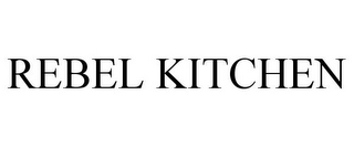 mark for REBEL KITCHEN, trademark #86167672