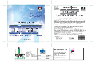 mark for CLEAR BLUE DEF DIESEL EXHAUST FLUID MEETS EPA CLEAN AIR ACT OF 2010 REQUIREMENTS API AMERICAN PETROLEM INSTITUTE CERTIFIED DIESEL EXHAUST FLUID, trademark #86170062