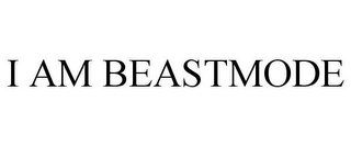mark for I AM BEASTMODE, trademark #86186911