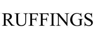 mark for RUFFINGS, trademark #86199185