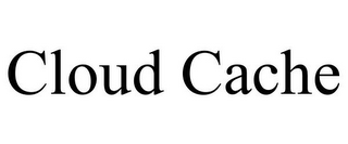 mark for CLOUD CACHE, trademark #86207660