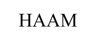 mark for HAAM, trademark #86209513