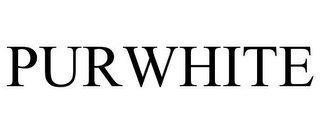 mark for PURWHITE, trademark #86223814