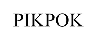 mark for PIKPOK, trademark #86233758
