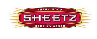 mark for SHEETZ FRESH FOOD MADE TO ORDER, trademark #86242960