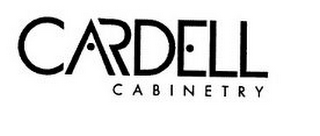 mark for CARDELL CABINETRY, trademark #86249301