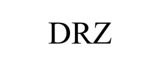mark for DRZ, trademark #86252889