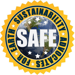 mark for SAFE SUSTAINABILITY ADVOCATES FOR EARTH, trademark #86253197