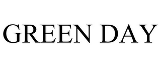 mark for GREEN DAY, trademark #86253451