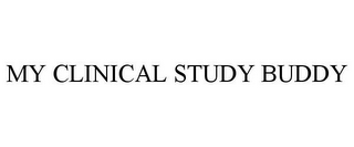 mark for MY CLINICAL STUDY BUDDY, trademark #86266577