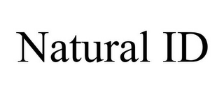 mark for NATURAL ID, trademark #86268700