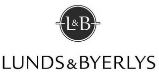 mark for L&B LUNDS & BYERLYS, trademark #86284739