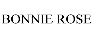 mark for BONNIE ROSE, trademark #86286625