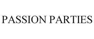 mark for PASSION PARTIES, trademark #86293953