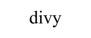 mark for DIVY, trademark #86313957