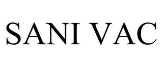 mark for SANI VAC, trademark #86335447